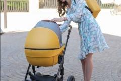 Kinderwagen Krausman Nexxo Yellow