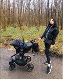 Kinderwagen Krausman Topaz Lux Black