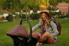 Kinderwagen Krausman Topaz Lux Brown