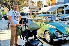 Krausman Kinderwagen 3 in 1 Topaz Lux Olive