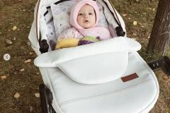 Kinderwagen Krausman Topaz Lux White